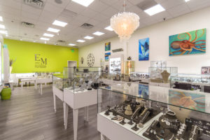 Eric Michaels Jewelry Interior