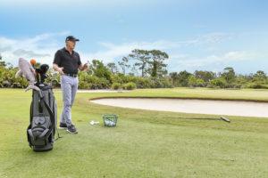 Golfing Great Greg Norman