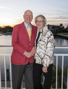 Economist Knight Kiplinger with wife Ann